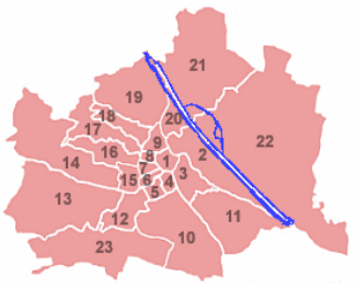 Districts da Vienna