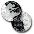 English: World War II 50th Anniversary Silver ...