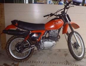 Xr on Honda Xr500