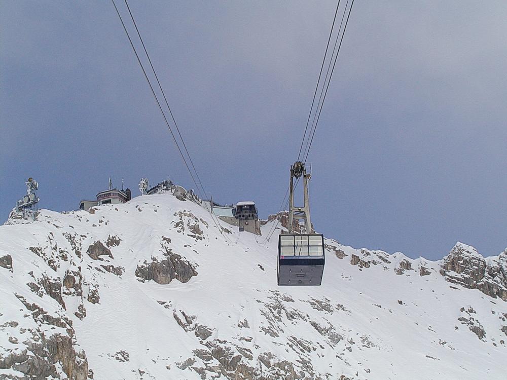 Zugspitze Glacier Cable Car Wikipedia