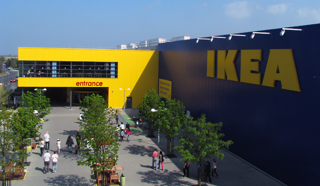 English: 'IKEA', Belfast Swedish über retailer...