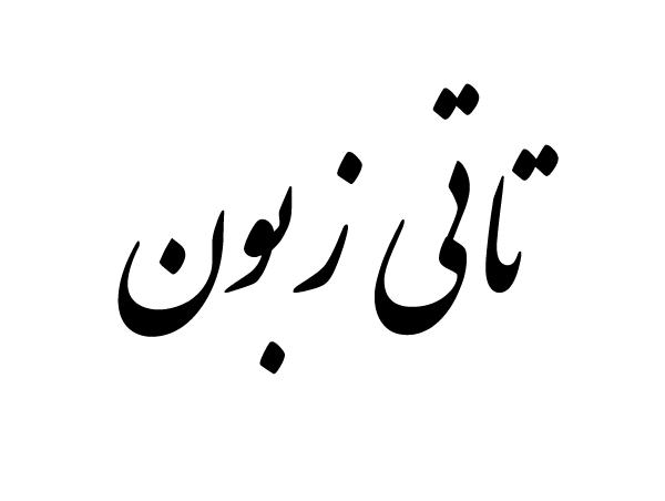 زبان تاتی ایران