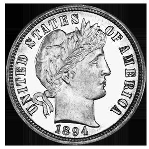 1894 S Barber Dime Wikipedia