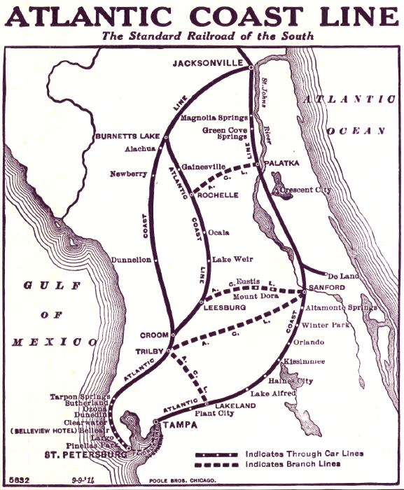 Map Of Florida Atlantic Coast.File 1914 Acl Fl Jpg Wikimedia Commons