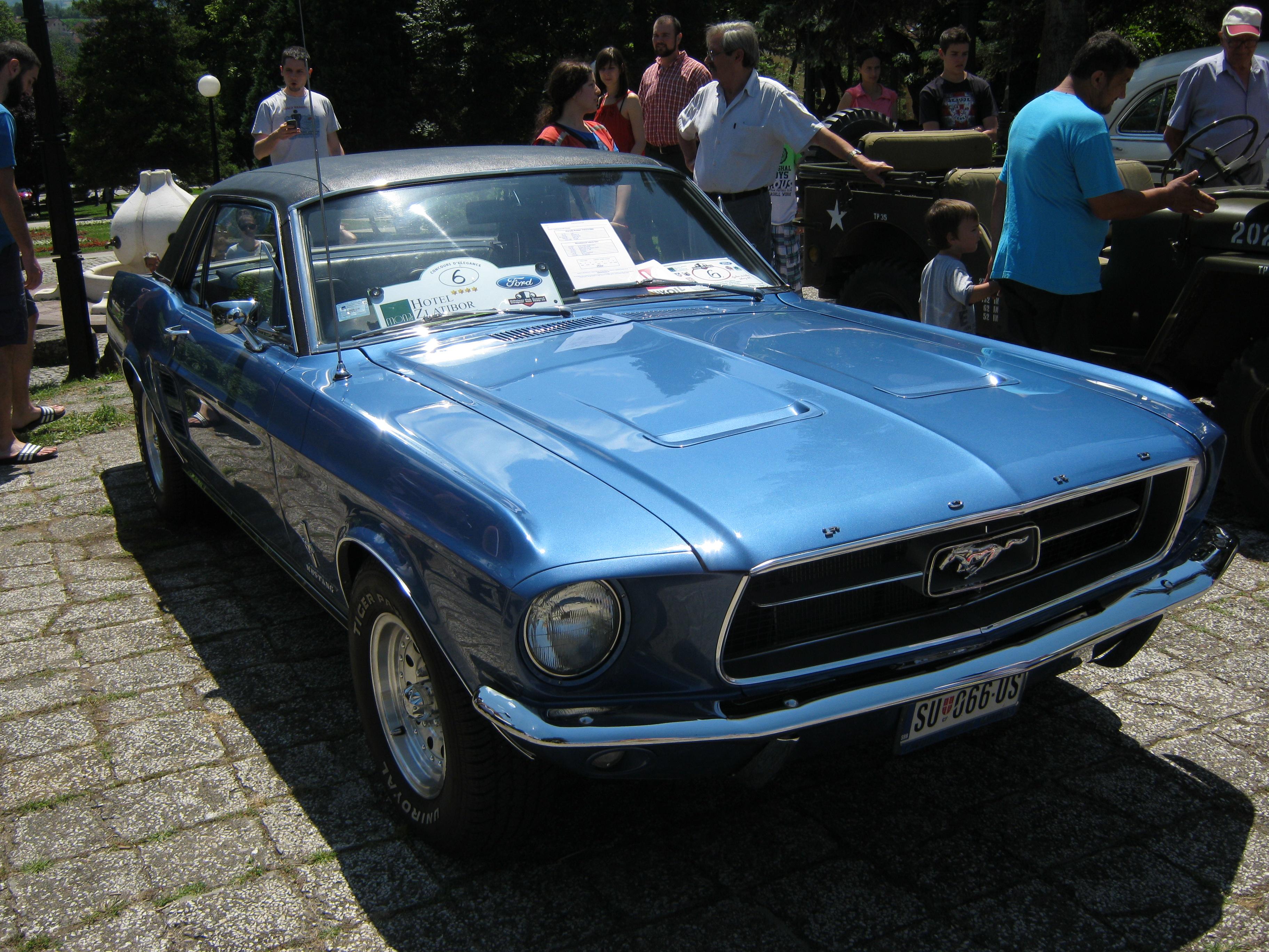 File:1965 Ford Mustang (Gornji Milanovac, Serbia) 06.jpg ...