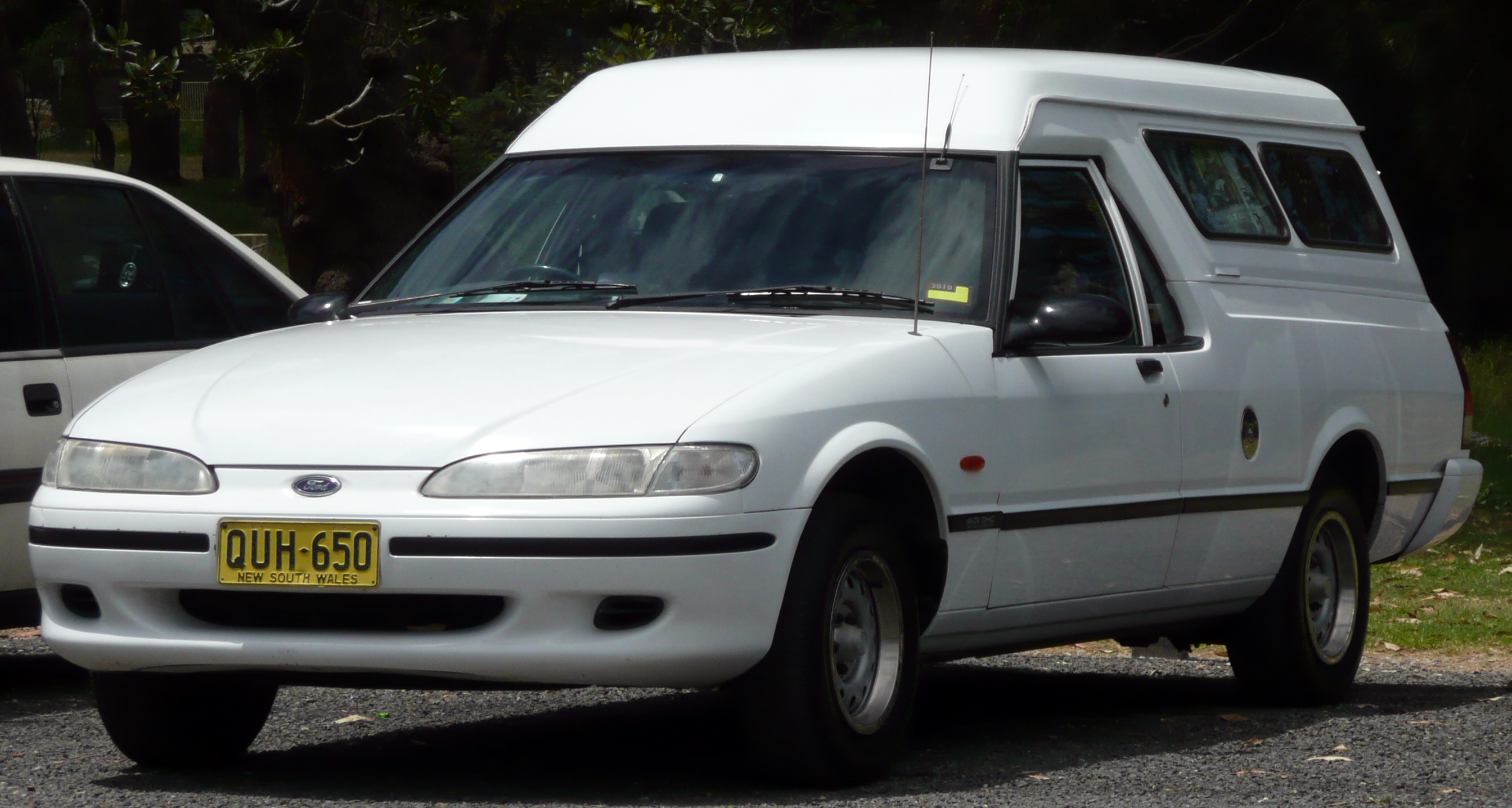 The ford falcon xh panel van
