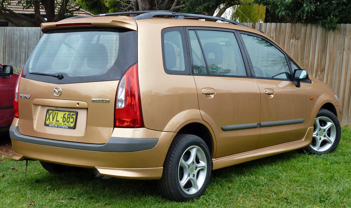 file:2001-2002 mazda premacy (cp) hatchback 01 - wikimedia commons