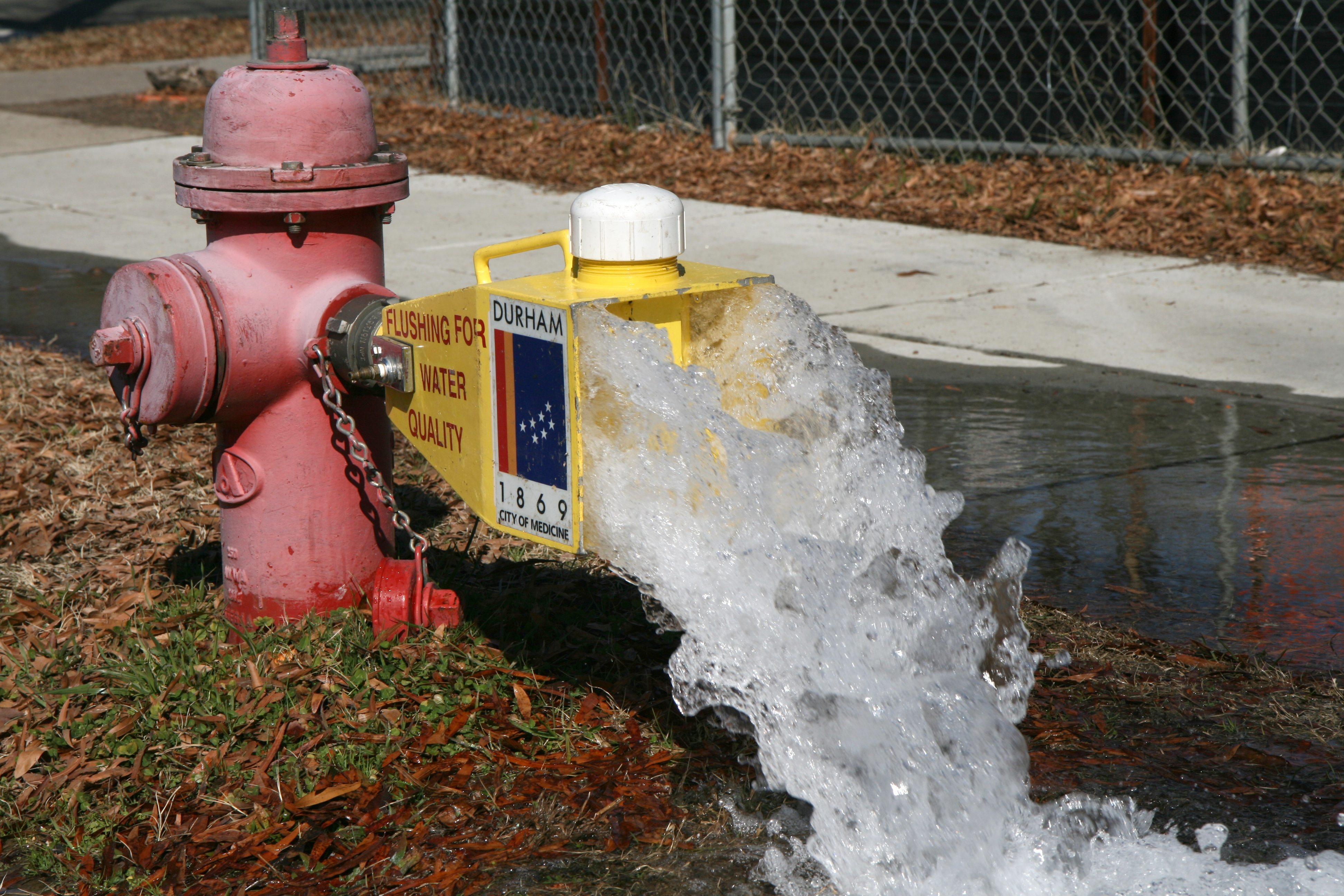 Village of Dresden flushing hydrants this week