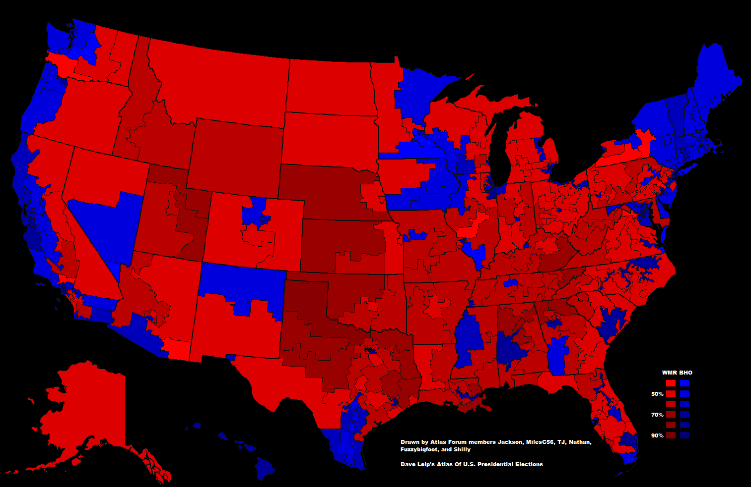 File Presidential Election Results By Congressional District - Map of us election results