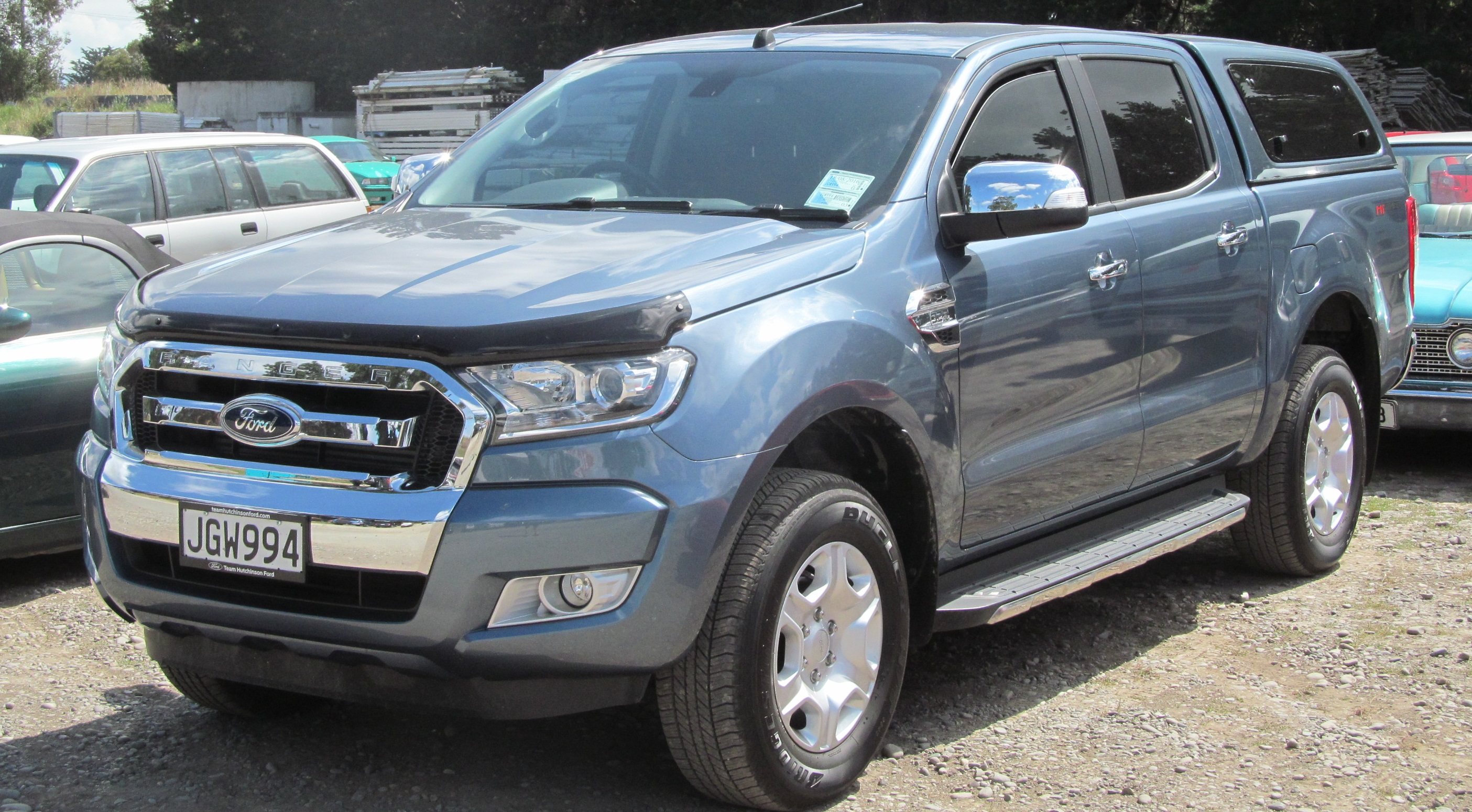 File2015 Ford Ranger XLT Double Cab New Zealand