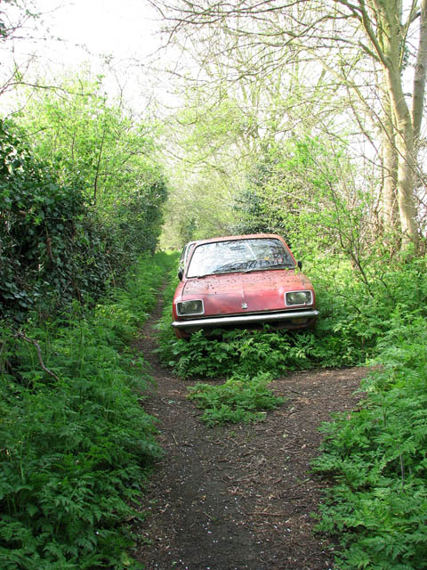 Abandoned Classic Cars In Uk