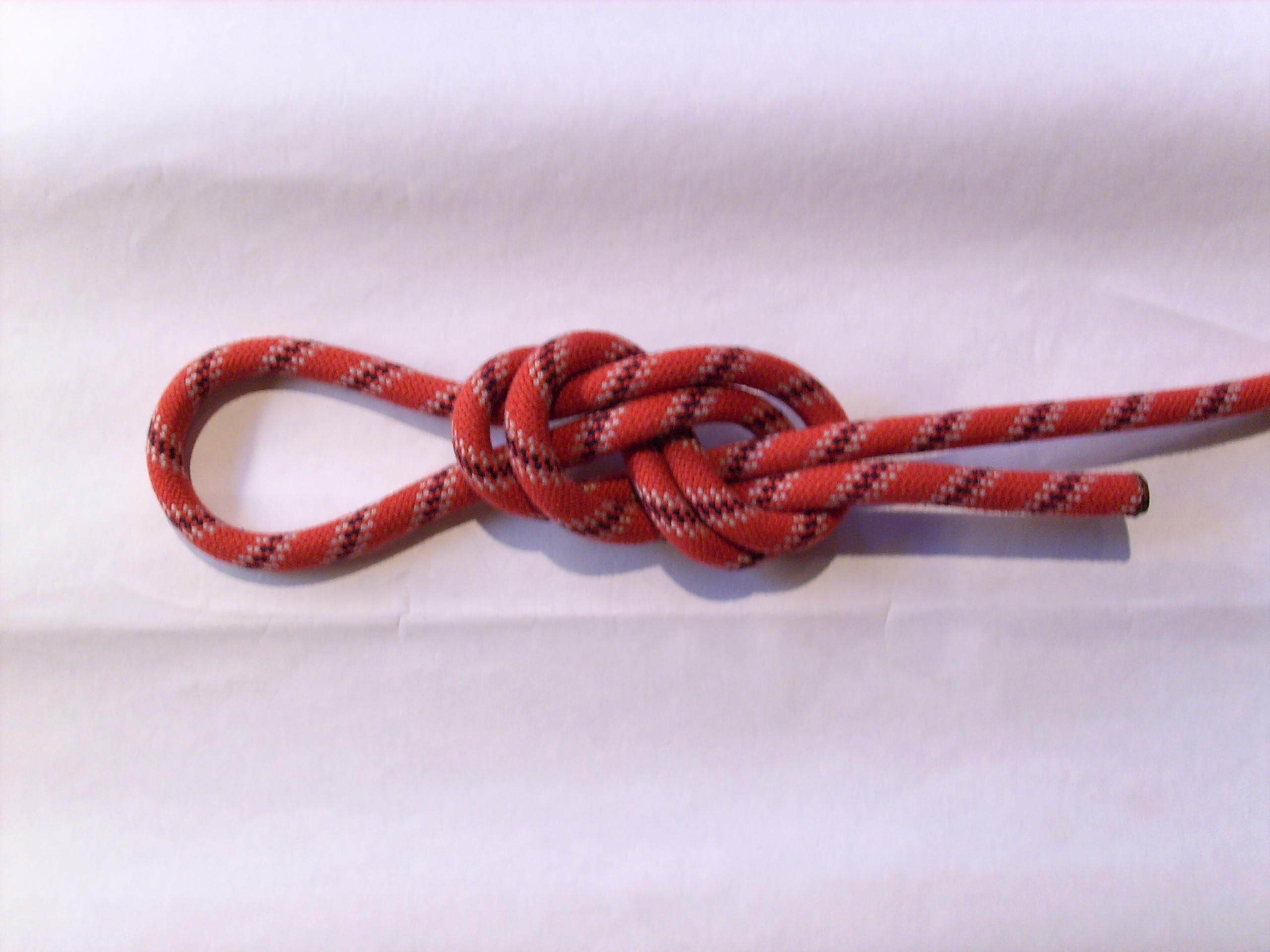 Klettergurt Für Mast : Achterknoten schlaufe u2013 wikipedia