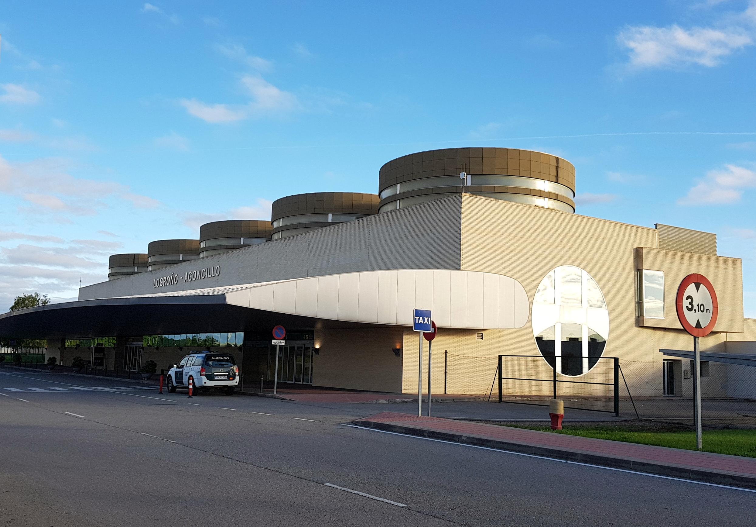 Aeropuerto de Logroño-Agoncillo - Wikipedia, la enciclopedia libre