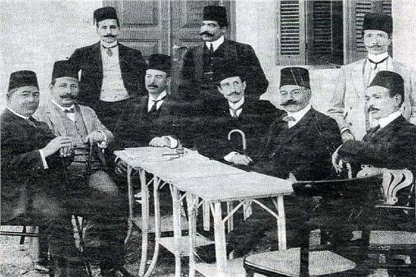 Al Ahly First meeting.jpg English: The First official meeting of Al Ahly club's board Date 24 April 1907 Source https://m.akhbarelyom