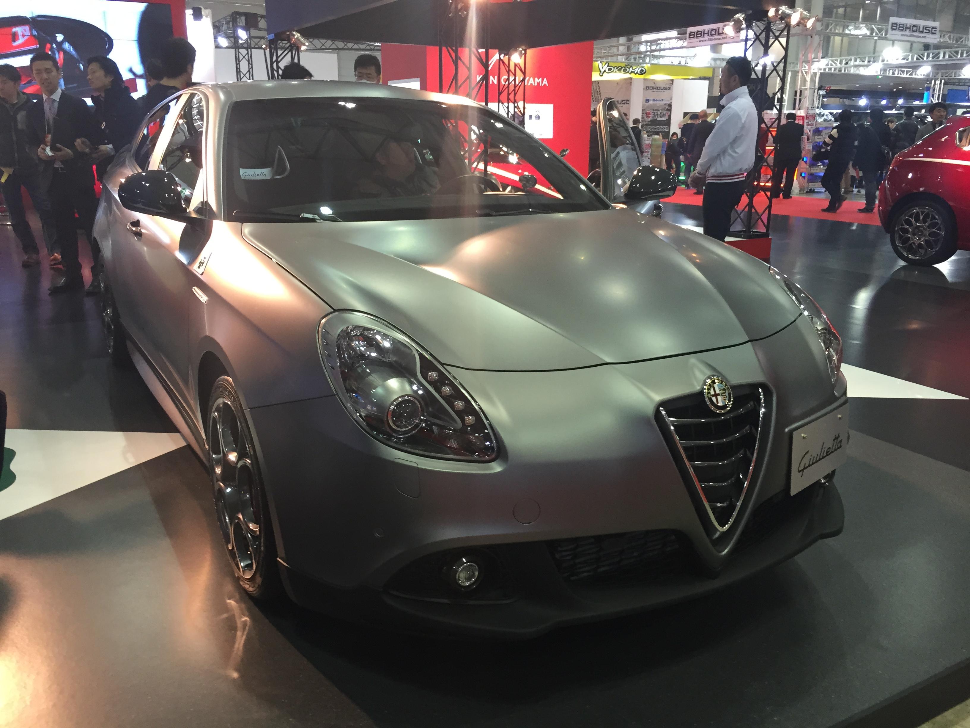 new car launches jan 2015FileAlfa Romeo Giulietta Quadrifoglio Verde Launch Edition front