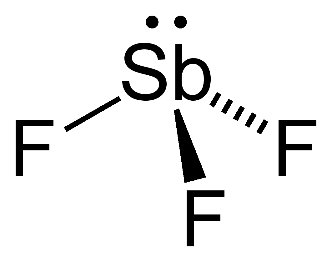 sbf3 lewis structure