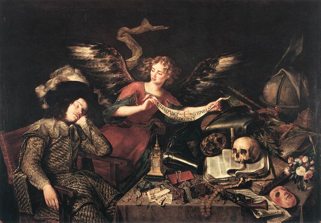 Antonio de Pereda y Salgado - The Knight's Dream - WGA17164.jpg