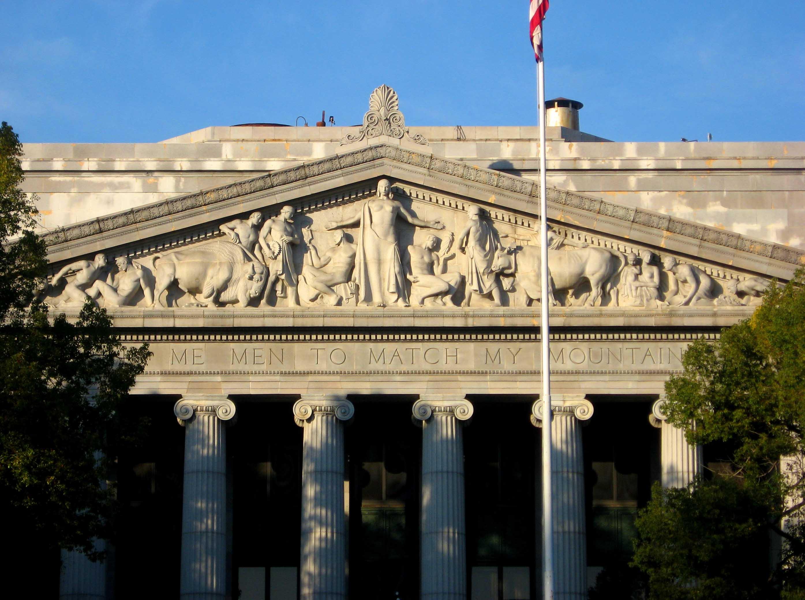 modern greek architecture buildings