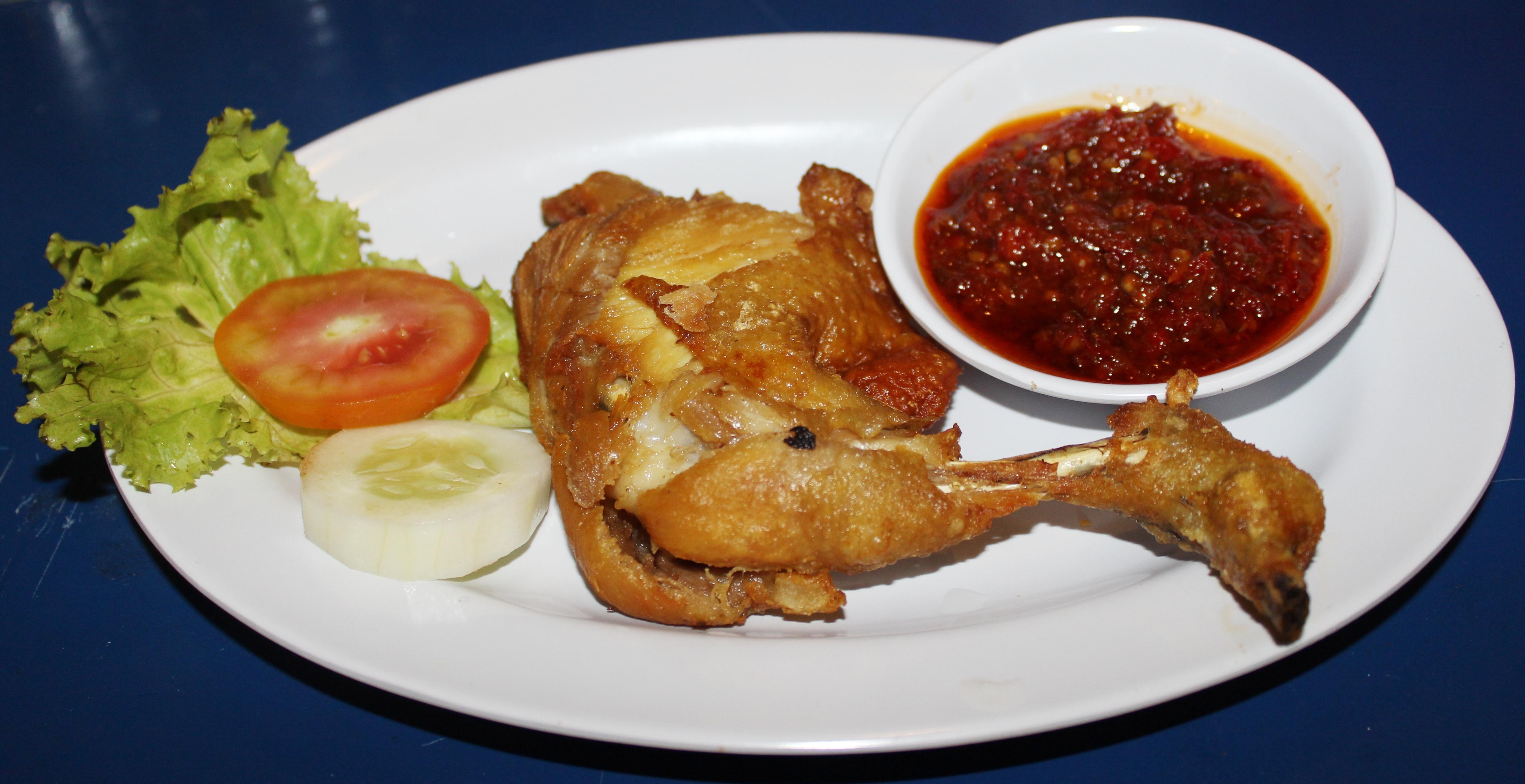 Ayam Penyet Wikipedia