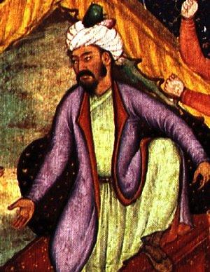 Babur portrait