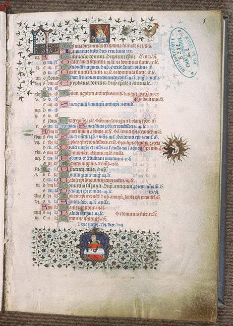 Bréviaire de Louis de Guyenne