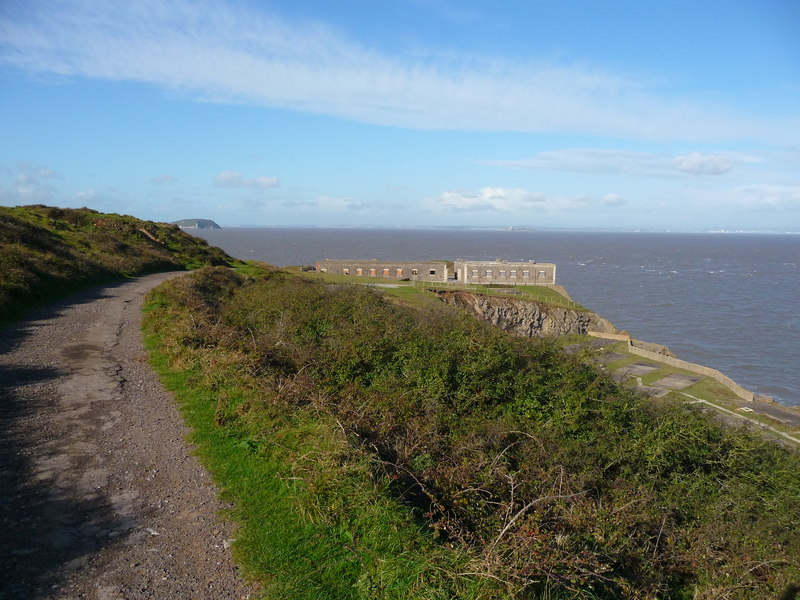 Brean Down - Track To Brean Down Fort (geograph 2781145)