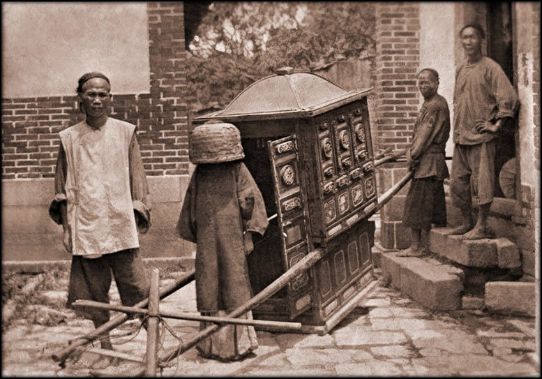 File:Bride On Her Way To Wedding, Fuzhou Fujian China (c1911-1913) Ralph G. Gold (RESTORED) (4073567279).jpg