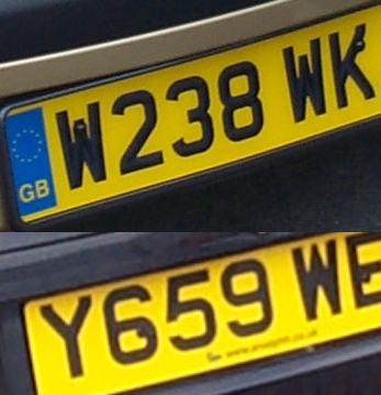 Image result for car reg plates