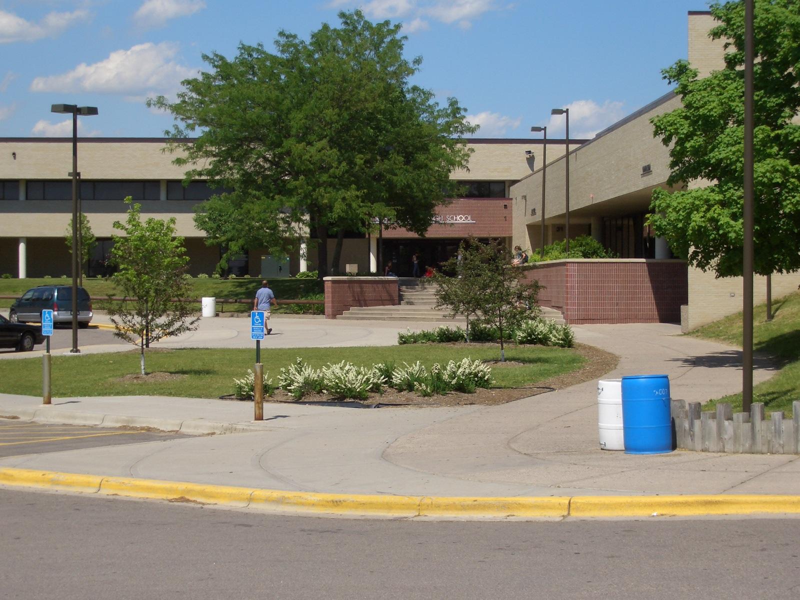 Burnsville High School Front