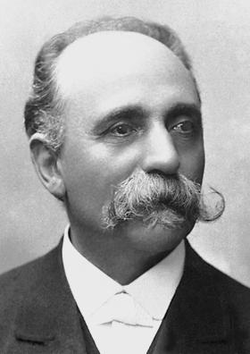 Depiction of Camillo Golgi