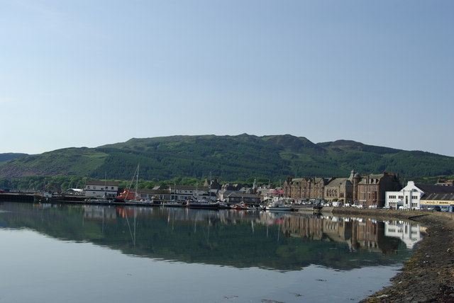 Campbeltown reflections - geograph.org.uk - 1432161
