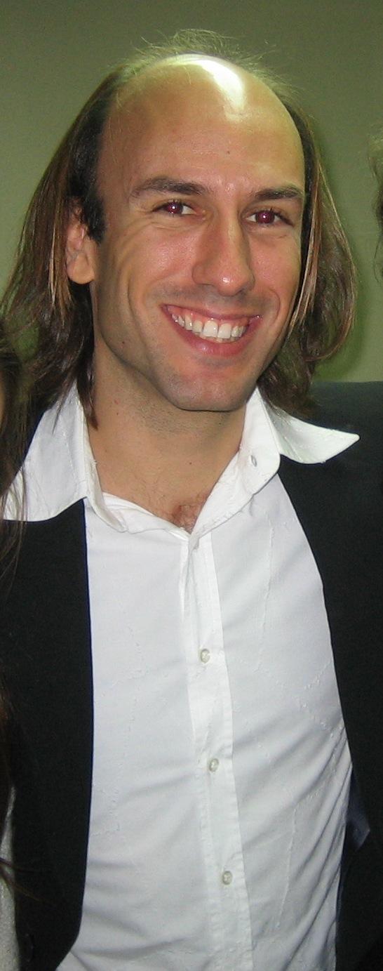 Carlos Núñez tras un concierto en Madrid.