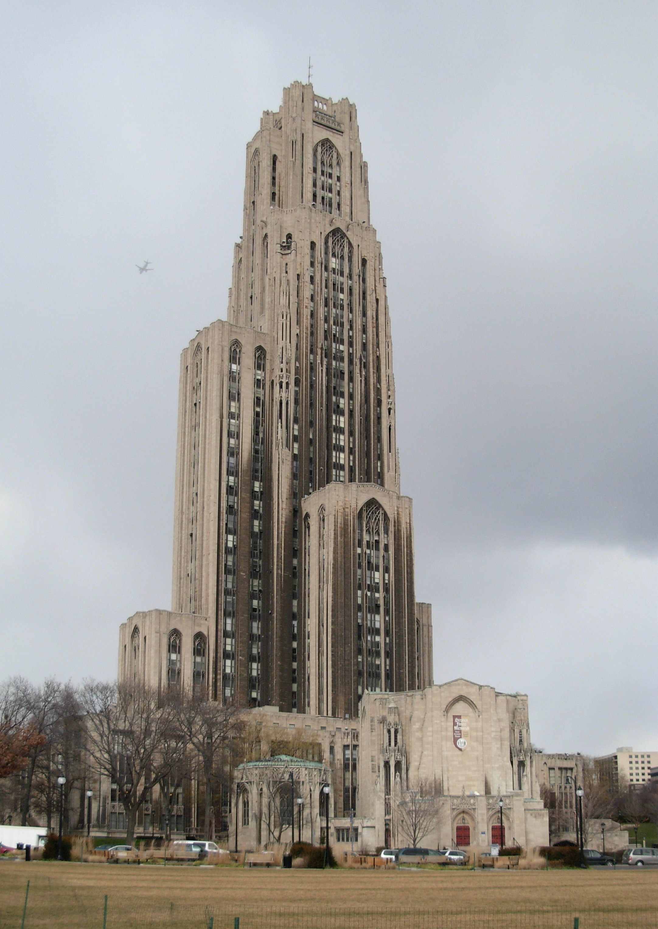 File:Cathedral of Learning 02.jpg - Wikimedia Commons: https://commons.wikimedia.org/wiki/file:cathedral_of_learning_02.jpg