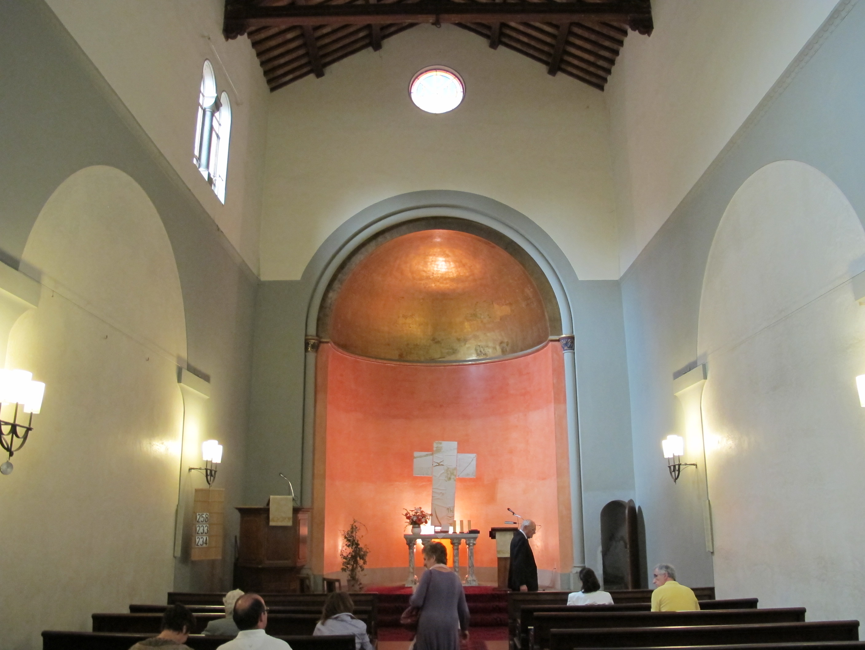 File Chiesa Luterana Di Firenze Interno 01 Jpg
