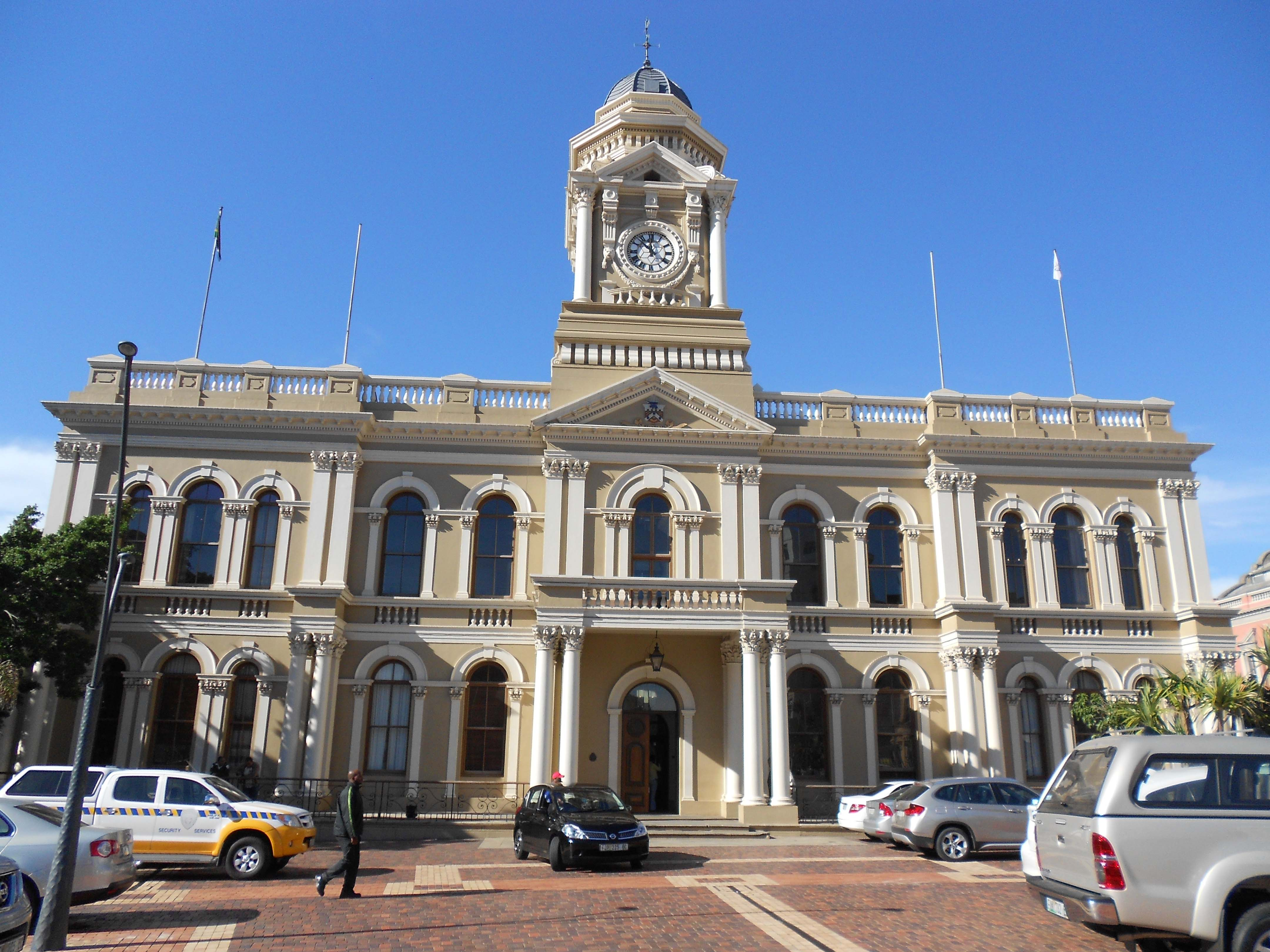 City Hall Cape Town History