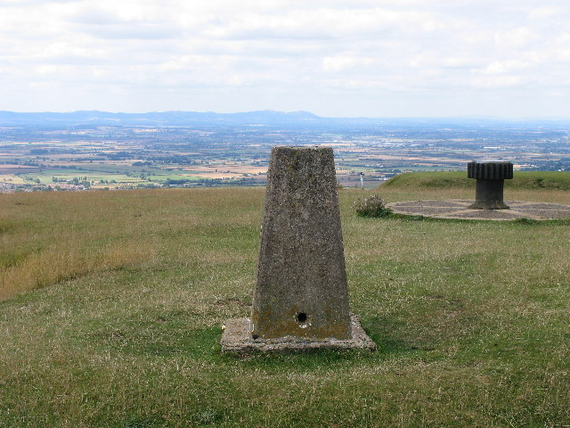 Cleeve Cloud Trig Point - geograph.org.uk - 38058