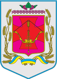 Coat of Arms of Pyriatynskiy Raion in Poltava Oblast.png