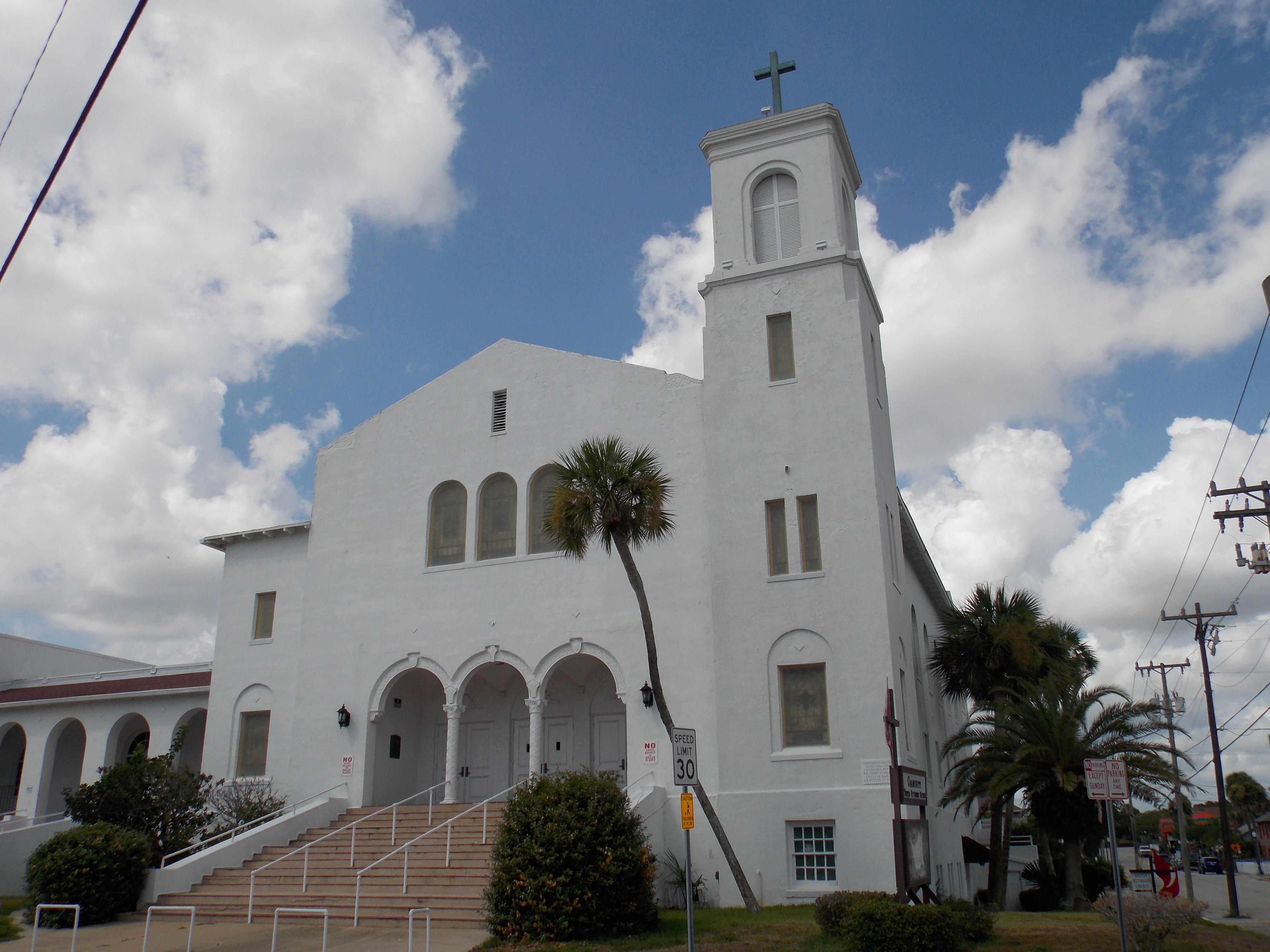 File Community United Methodist Church Daytona Beach Florida Jpg