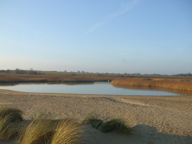 Covehithe Broad from the beach - geograph.org.uk - 1121133