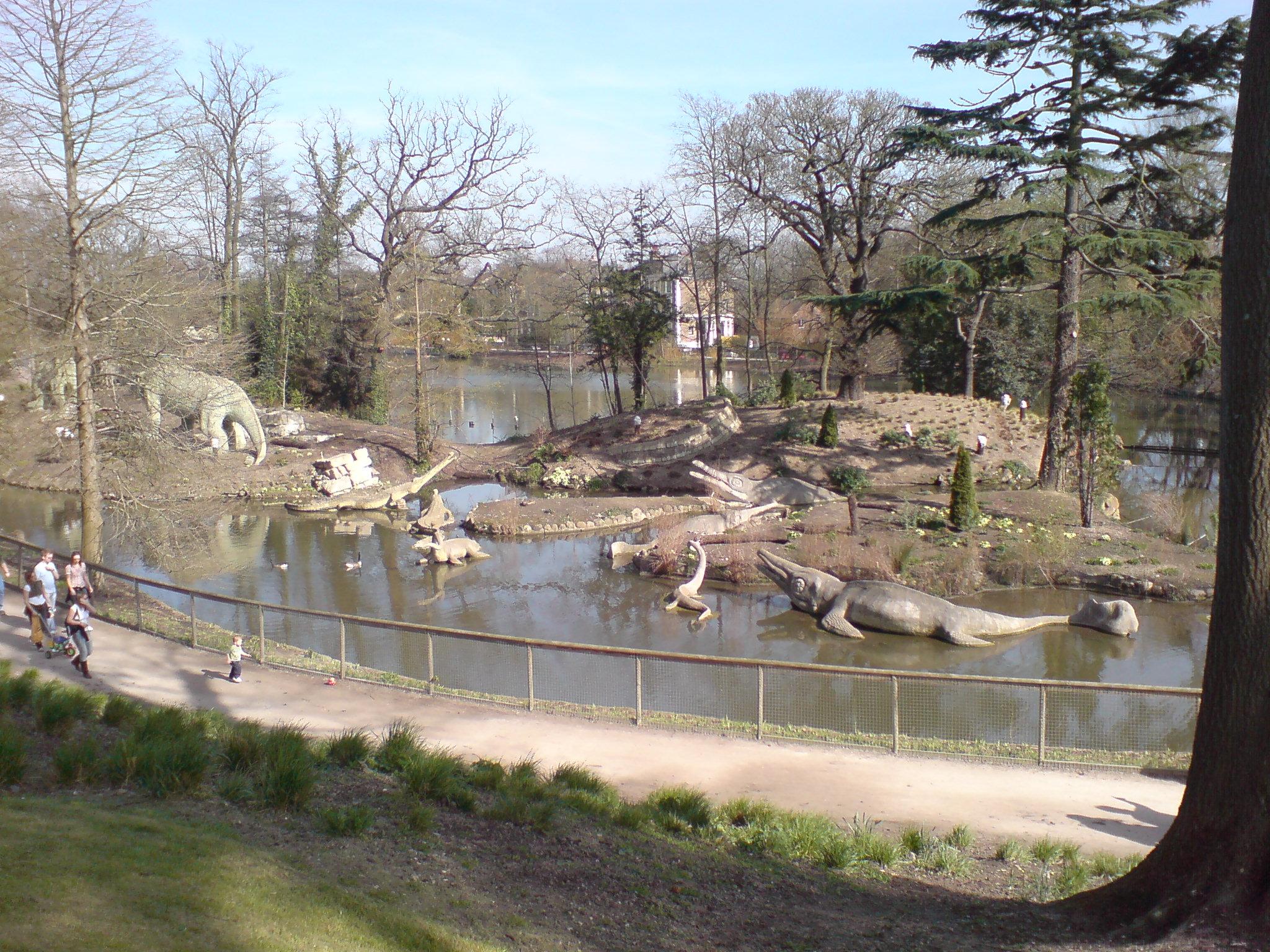 Dinosaurios de Crystal Palace - Wikipedia, la enciclopedia libre