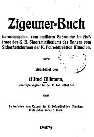 Dillmanns Zigeuner-Buch 1905