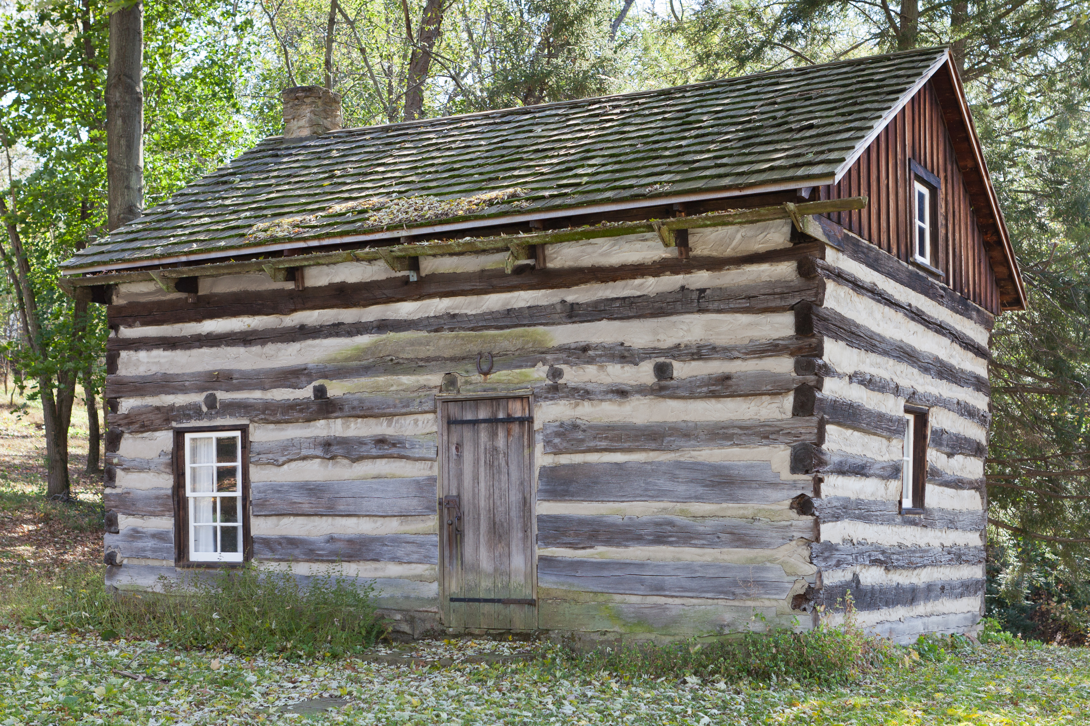 Marvelous photograph of Description Drake Log Cabin.jpg with #4E5E37 color and 3690x2460 pixels