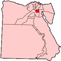 カイロ県の県域
