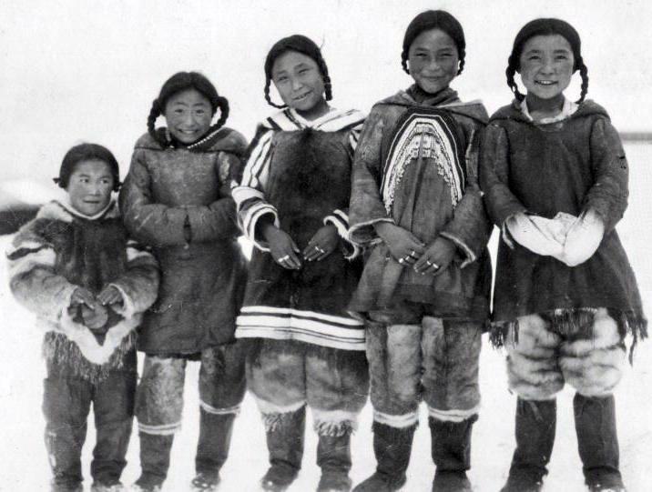 Enfants Inuits 1925