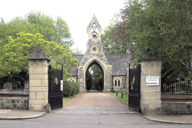 Ealing and Old Brentford Cemetery - Wikipedia