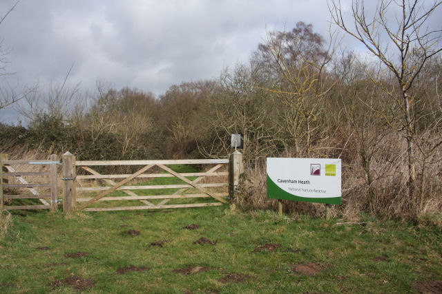 Entry to Cavenham Heath National Nature Reserve - geograph.org.uk - 1198392