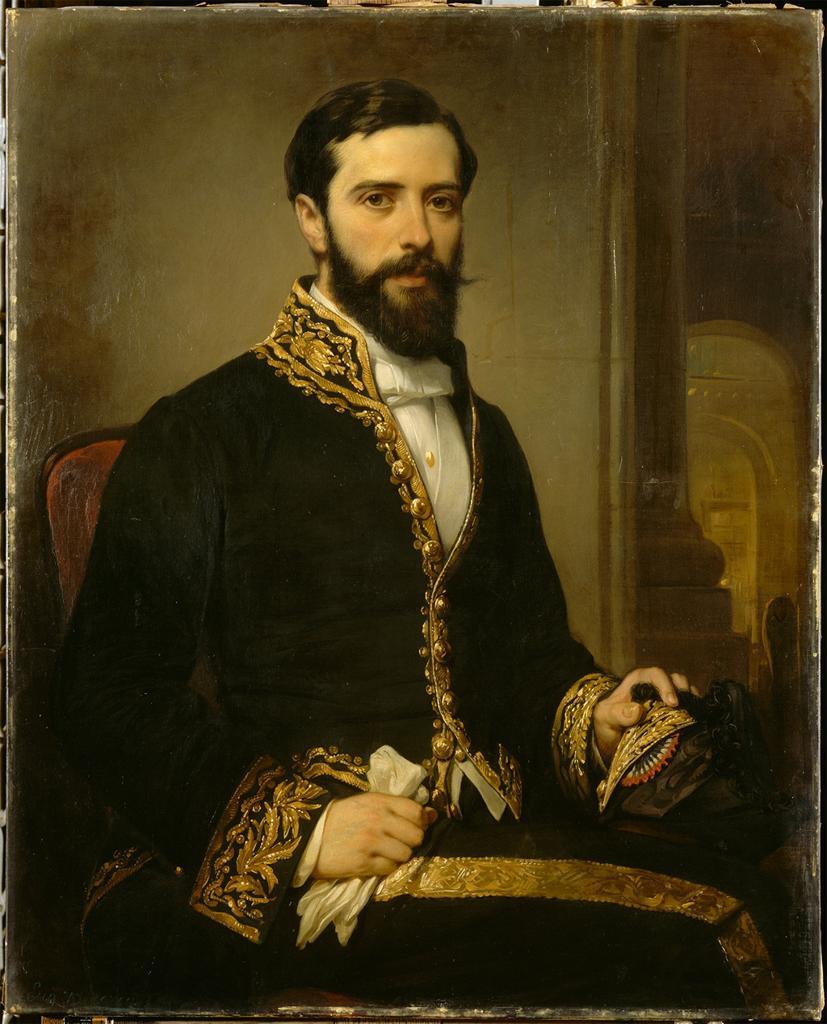 Portrait de Théodule Devéria