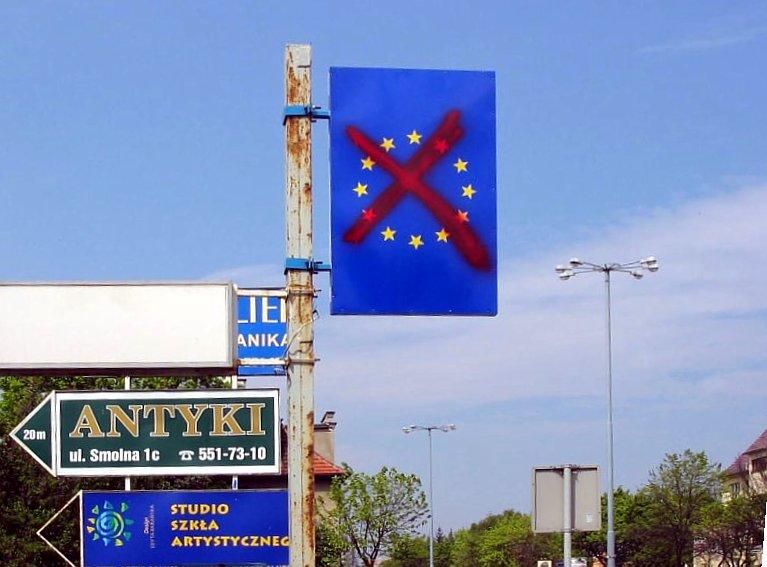 European Union sign 2003