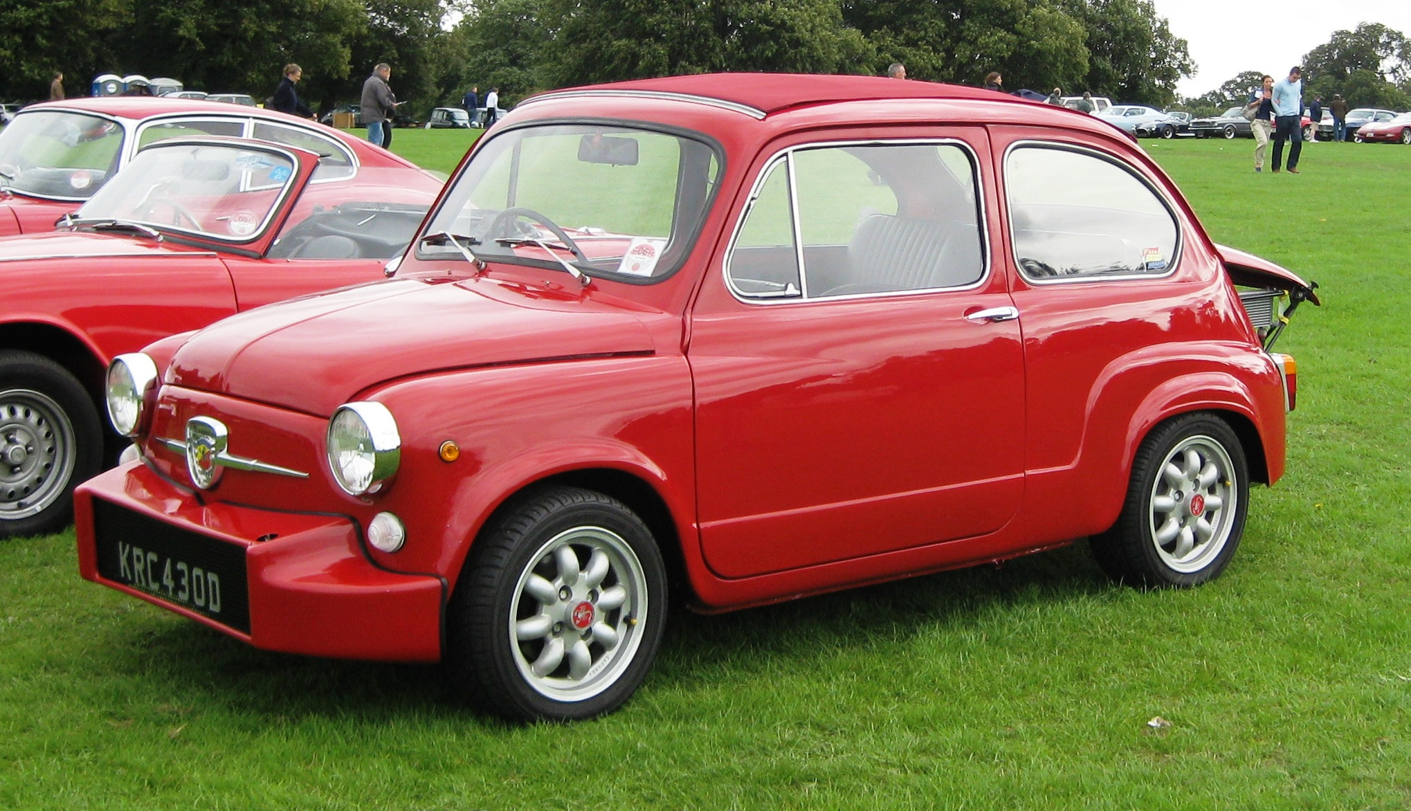 File Fiat Abarth 750 767cc May 1966 Jpg Wikimedia Commons
