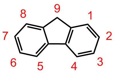 fluorenene to fluoronone Structure, properties, spectra, suppliers and links for: 9h-fluoren-9-one, fluorenone, 486-25-9.